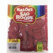 Balão New Pink N07 50 unid São Roque