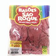 Balão New Pink N09 50 unid São Roque