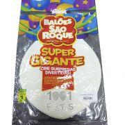 Balão Super Gigante Branco Polar N350 São Roque