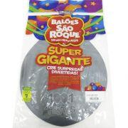 Balão Super Gigante Prata N350 São Roque