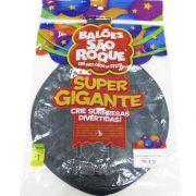 Balão Super Gigante Preto N350 São Roque