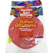 Balão Super Gigante Vermelho N350 São Roque