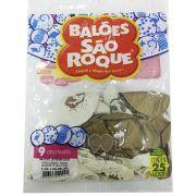 Balão Unicórnio Teen Sortidos N9 25 unid São Roque