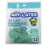 Balão Verde Claro N16 12 unid Art Latex