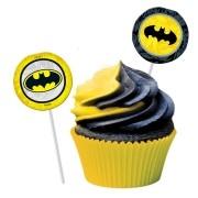 Bandeirinha para Doces Batman Geek c/8 unid - Festcolor
