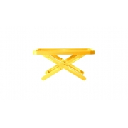 Bandeja Suporte Mini Table Amarelo