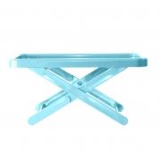 Bandeja Suporte Mini Table Azul Claro