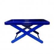 Bandeja Suporte Mini Table Azul Marinho