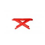 Bandeja Suporte Mini Table Vermelho