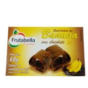 Barrinha de Banana com Chocolate  4 x 17g Frutabella