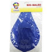 Big Balão N250 Azul  Art Latex
