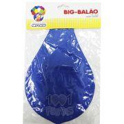 Big Balão N250 Azul  Art Latex