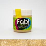 Brilho Para Decoração Amarelo 3g Fab