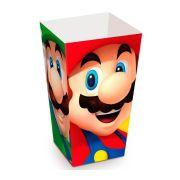 Caixa Pipoca Super Mario C 10 unid Cromus