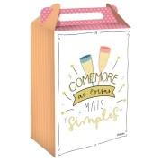 Caixa Surpresa Celebre a Vida c/8 unid - Festcolor
