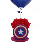 Centro de Mesa Capitão América Com Pega Balão Piffer