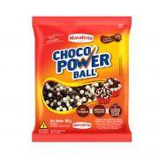 Cereal Drageado Mini ao Leite e Branco 500g Choco Power Ball