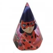 Chapéu Ladybug C 12 unid Regina