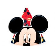 Chapéu Mickey C 08 unid Regina