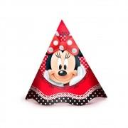Chapéu Minnie Vermelha c/12 unid Regina