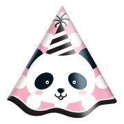Chapéu Panda C 08 unid Festcolor