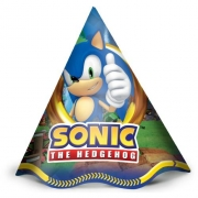 Chapéu Sonic  C 12 unid Regina