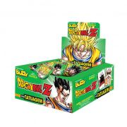 Chicle Dragon Ball Z Hortelã 400g 100 unid Buzzy