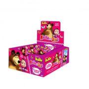 Chicle Masha e o Urso Tutti-Frutti 400g 100 unid Buzzy