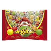 Chicle Megaball Sortido 440g 80 unid Sukest