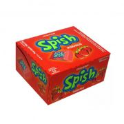 Chicle Spish Morango 225g 50 unid Sukest