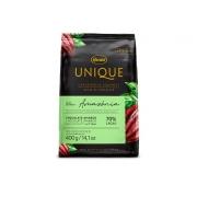 Chocolate Amargo em Gotas Unique  70% 400g Harald