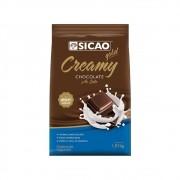 Chocolate em Gotas Creamy Ao Leite 1,01Kg Sicao Gold