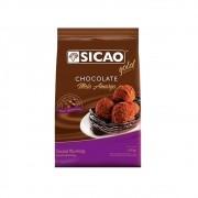 Chocolate em Gotas Meio Amargo 1,01Kg Sicao Gold