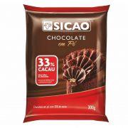 Chocolate em Pó 33% Cacau 300g Sicao