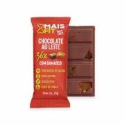 Chocolate Mais Fit Ao Leite com Damasco 23g