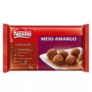 Chocolate Meio Amargo 1kg Nestlé