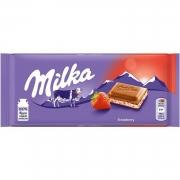 Chocolate Milka Stawberry 100g