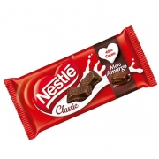Chocolate Nestlé Classic 90g  Meio Amargo