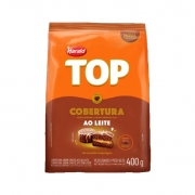 Cobertura Gotas Sabor Chocolate Ao Leite 400g Harald Top