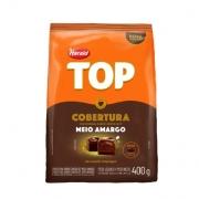 Cobertura Gotas Sabor Chocolate Meio Amargo 400g Harald Top