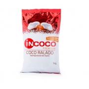 Coco Ralado Desengordurado Sem Açúcar 1kg InCoco
