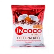 Coco Ralado  Desidratado Sem Açúcar 100g InCoco