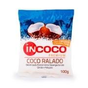 Coco Ralado Desidratado Úmido e Adoçado 100g InCoco