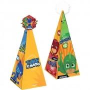 Cone com Apliaque PJ Masks C 08 unid Regina