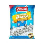 Confeito Amendoim Branco Crocante 400g Amendupã