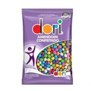 Confeito Amendoim Colorido 500g Dori