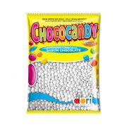 Confeito Chococandy Mini Branco 350g Dori
