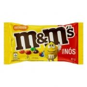 Confeito Chocolate m&m's Amendoim 80g