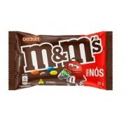 Confeito Chocolate m&m's Ao Leite 80g