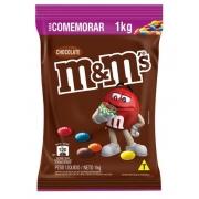 Confeito Chocolate m&m's Ao Leite 1Kg